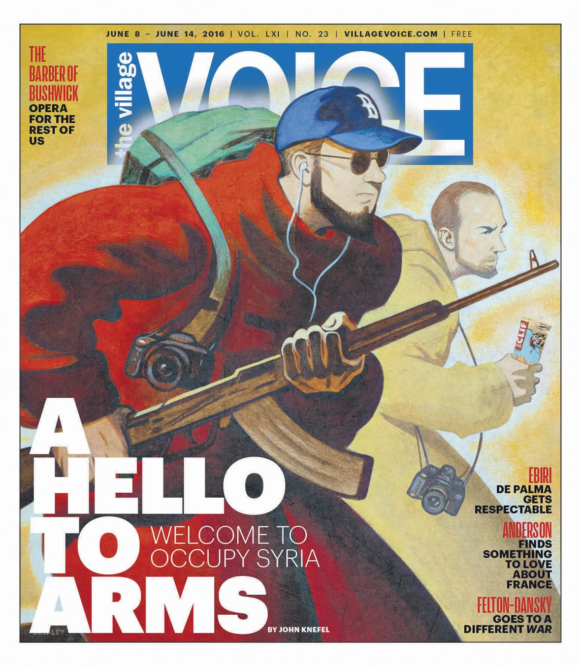 The Village Voice, New Yorks legendary alt-weekly, has